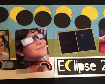 Eclipse 2017 Scrapbook Layout Kit