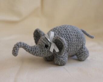 Baby Elephant Crochet Pattern, Amigurumi Pattern