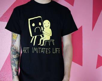 Art Imitates Life Tee