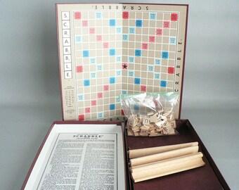 Scrabble Game Vintage Board Game of Words