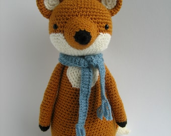 Fox Crochet Amigurumi Pattern