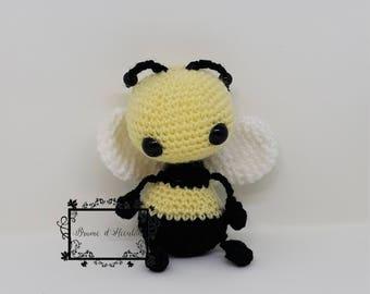 Amigurumi Plush Bee