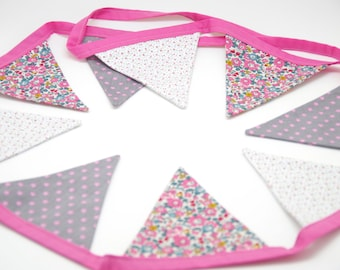 Garland pennants Liberty of London fabric, available!