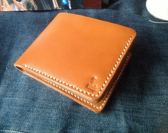 Leather Wallet Indy Relax (Orange)