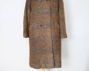 RESERVED 1960s Vintage Wool Bouclé Coat