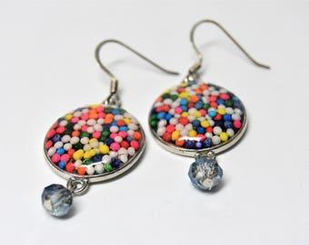 Candy crush earrings