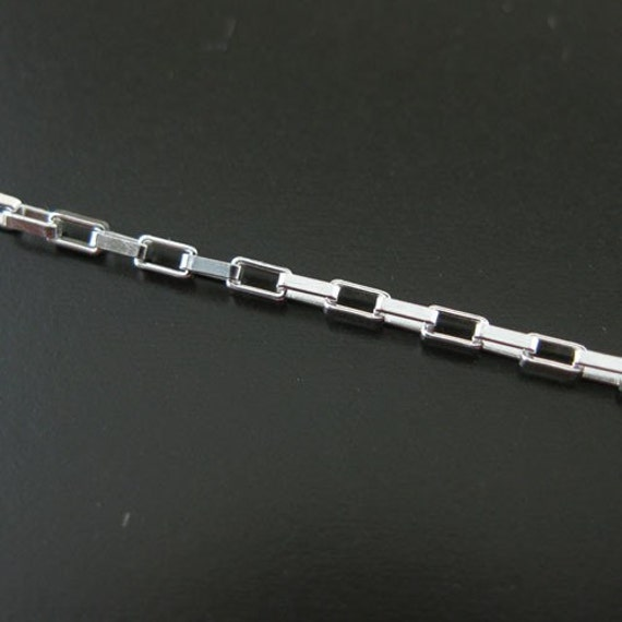 Wholesale Sterling Silver Box Chain Unfinished Bulk Chains