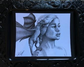 Daenerys Targaryen print