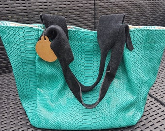 Tropical green ball comodo inner cotton bag