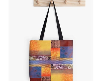 Bookbag or Book Bag, Unique Tote Bag, Supplies for Back to School, Christmas Gifts for Students, Going off to College Gifts, Festival Tote
