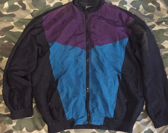 Vintage Robert stock windbreaker