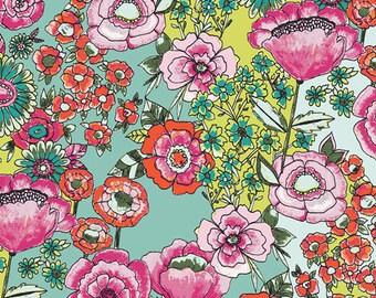 Flower Shower Intense - Wild Bloom - Bari J - Art Gallery Fabric - 100% Quilters Cotton -  WBL-12030