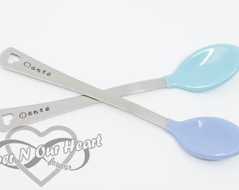 Baby Spoon, Personalized Baby Spoon, Baby Shower Gift, Baby Gift, Silver Spoon, Baby Keepsake, Baby's First, Christmas Gift, Spoon, New Baby