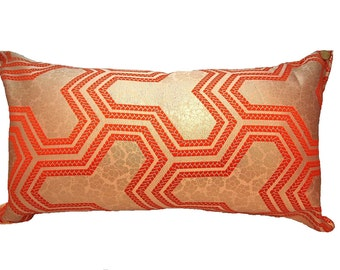 Cushion of Obi (Kimono) Japanese Silk  0000024