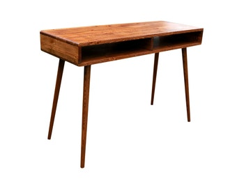 Mid Century Inspired Study Desk - MADE TO ORDER 90 days