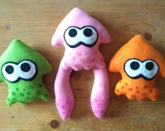Handmade Splatoon Squid Plush