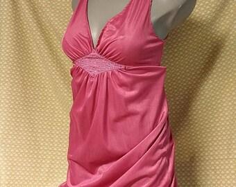 Slinky Feel Vintage Nylon LOV LEE Nightgown #27
