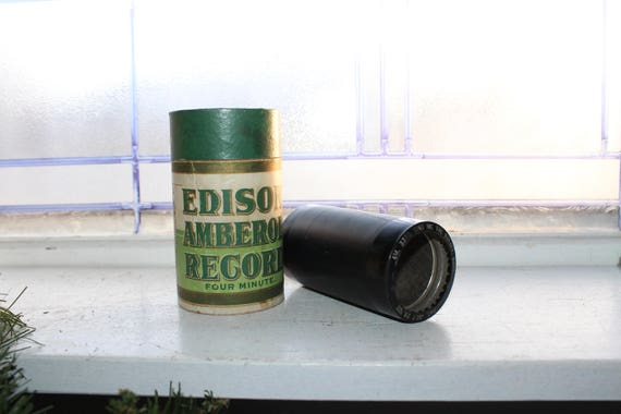 Antique Edison Cylinder Record 3340 Sing Me The Rosary