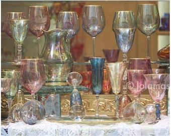 Wedding art gift, Dinner wall art, Glass Photography, Wedding Gift, Shabby chic, Fine art, Giclée print