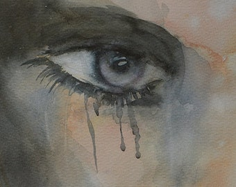 Sad eyes, sad look, gray eyes, look, gray and ochre,