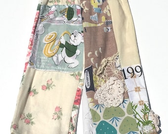 Hankie Babies vintage scrappy pants--Girl and Boy versions avail Made to Order Wholesale Avail