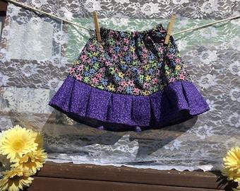 Neon Stars Tiered Skirt