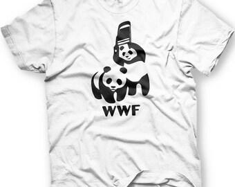 WWF Pandas. World Wrestling Federation.