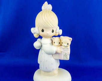 To Thee With Love Precious Moments figurine