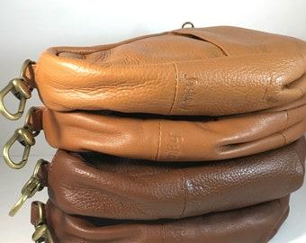Ameribag Leather Healthy Backpack Baglette Brown, Tan, Light Brown, Dark Brown