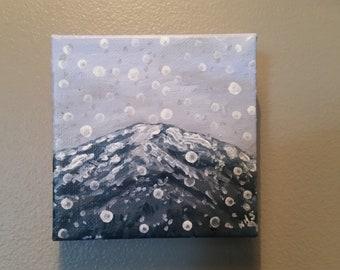 Snow on Bergen Mountain P45
