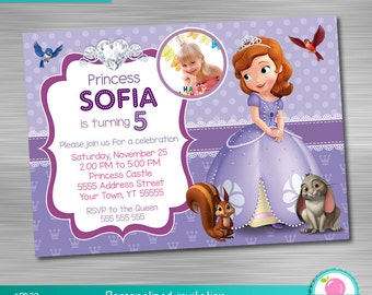 Sofia the first centerpiece print yourself sofia the first sofia the first invitation print yourself princess birthday sofia the first party solutioingenieria Choice Image