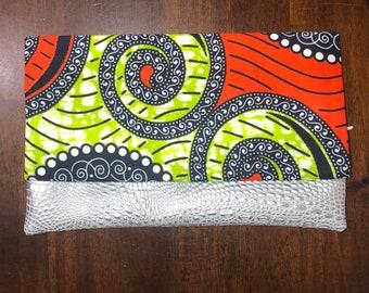 Ankara clutch, ankara wallet, ankara handbag, womens handbag , womens clutch, african fabric