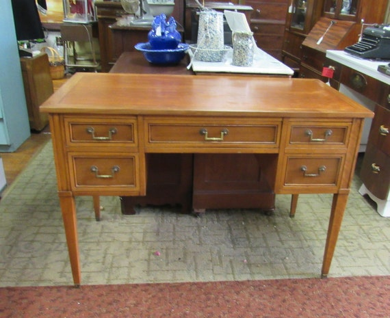 Vintage writing desk by Hekman