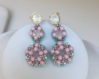 "Tutorial instructions earrings ""sweet like candy"""