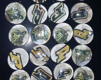 Motivation glass magnets - Purdue (set of 5)