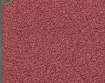 RJR Jenny Beyer Quilting Cotton Coral Tapestry 126188 - 1/2 Yard