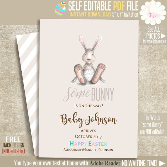 pregnancy announcement cards free template
