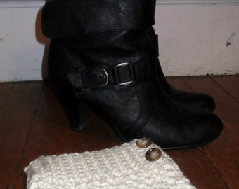 Brooklyn Boot Cuff/Adult/Teen/Crochet Boot Cuff/Boot Cuff/Boot Topper/Crochet Boot Topper