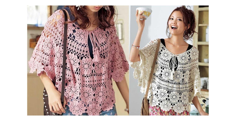 Contemporary Crochet Tunic Patterns Embellishment - Sewing Pattern ...