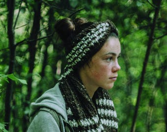 Crochet headband pattern, easy to make