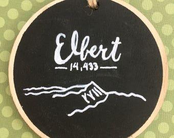 Mt. Elbert - Colorado 14er Ornament