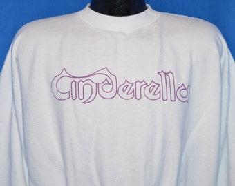 80s Cinderella Glam Metal Sweatshirt Large