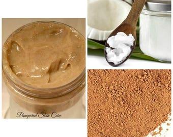 Hair Paste/Mask Moroccan Clay Treatment- Intense Deep Cleaning, Revitalizing, Scalp Exfoliation, Repair, Silk Amino Acids, Pro Vitamin B5
