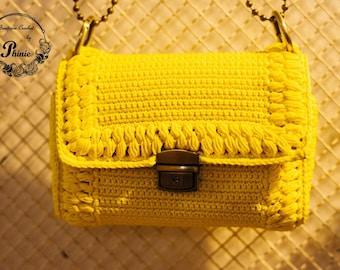 Handmade Crochet Handbag