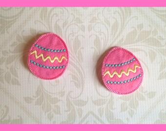 Easter Egg Hair Clips