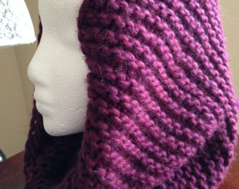 Infinity Scarf / Chunky Knit Scarf / Wool Scarf / Shawl / Loop Scarf / Long Scarf / Perfect Gift / Hat