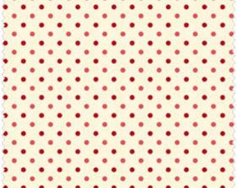 Rouge Dots on Cream SKU# LHC05037-ROU