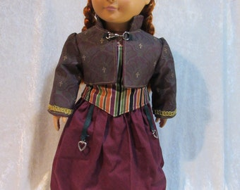 "18""  Steampunk Doll clothes, handmade"