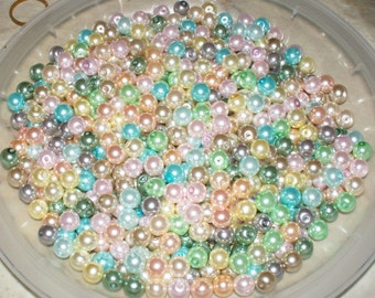 Glass Pearl Soup - 4MM, 6MM, 8MM