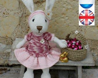 Tutoriel en français, anglais et néerlandais d'Ernestine, la lapine,